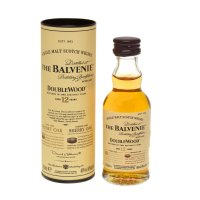 Balvenie 12 yo Doublewood Single Malt Scotch Miniature Whisky