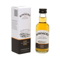 Bowmore 12 yo Single Malt Scotch Miniature Whisky 5cl Bottle