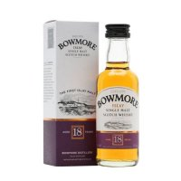 Bowmore 18 yo Single Malt Scotch Miniature Whisky 5cl Bottle