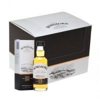 Bowmore 12 yo Whisky Miniatures - 12 PACK
