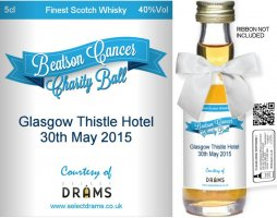 Own Brand Label: 05 | Personalised Whisky Miniatures