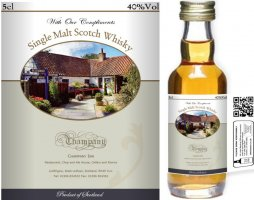 Own Brand Label: 07 | Personalised Whisky Miniatures