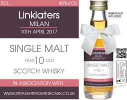 Own Brand Label: 04 | Personalised Alcoholic Miniatures