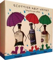 Doin' It in Yer Wellies Gift Pack Set - Scotch Whisky Miniatures