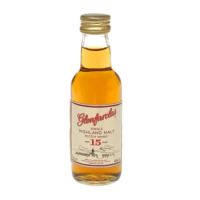 Glenfarclas 15 yo Single Malt Scotch Whisky 5cl Miniature