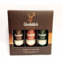 Glenfiddich Triple Gift Pack Set - Scotch Whisky 5cl Miniatures