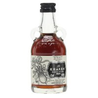 Kraken Black Spiced Miniature Rum 5cl Bottle