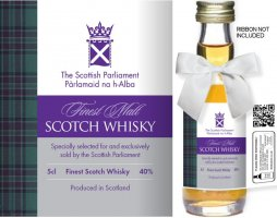 Own Brand Label: 02 | Personalised Whisky Miniatures