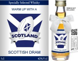 Own Brand Label: 06 | Personalised Whisky Miniatures