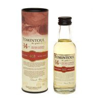 Tomintoul 14 yr Single Malt Scotch Miniature Whisky 5cl Bottle
