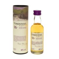 Tomintoul 16 yr Single Malt Scotch Miniature Whisky 5cl Bottle