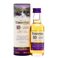 Tomintoul 10 yo Single Malt Scotch Whisky 5cl Miniature