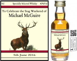 Stag Label 1: Personalised Miniatures