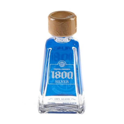 1800 Silver Tequila 5cl Miniature