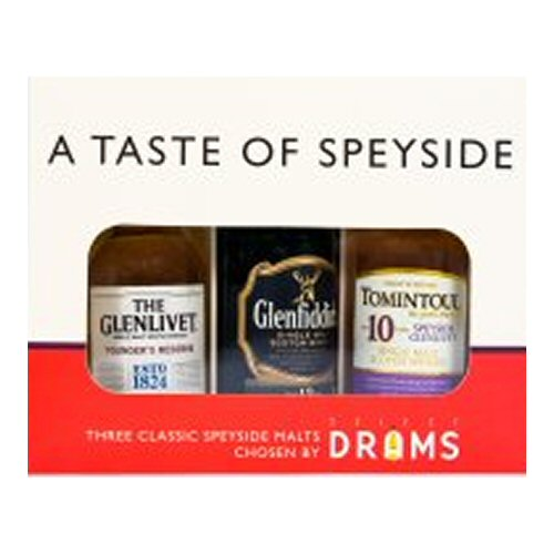 A Taste of Speyside Gift Pack - Scotch Whisky 5cl Miniatures