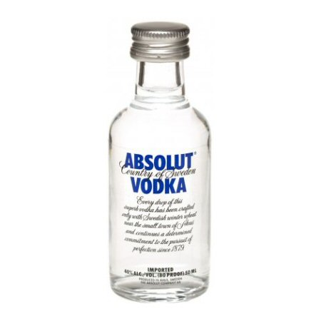 Absolut Blue Vodka 5cl Miniature