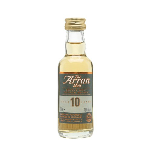 Arran 10 yo Single Malt Scotch Whisky 5cl Miniature