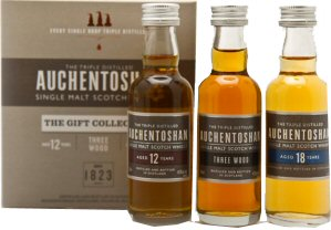 Auchentoshan Triple Gift Pack - Whisky Minatures
