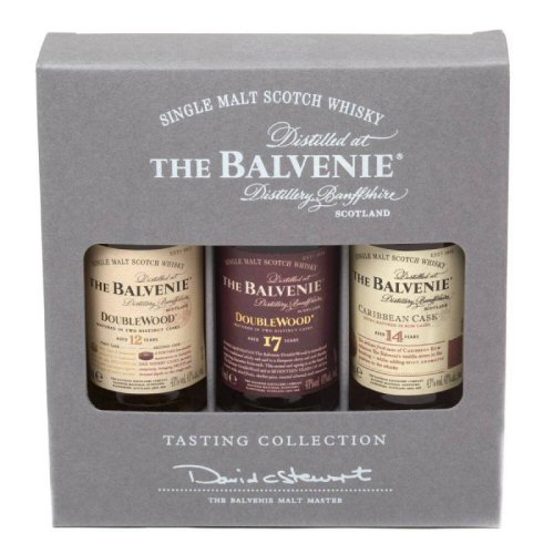 Balvenie Triple Gift Pack Set - Scotch Whisky 5cl Miniatures