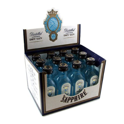 Bombay Sapphire Gin Miniatures (12 PACK)