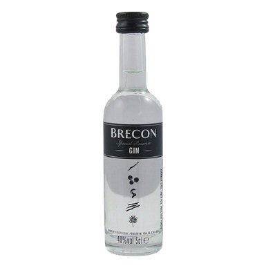 Brecon Miniature Gin 5cl Bottle