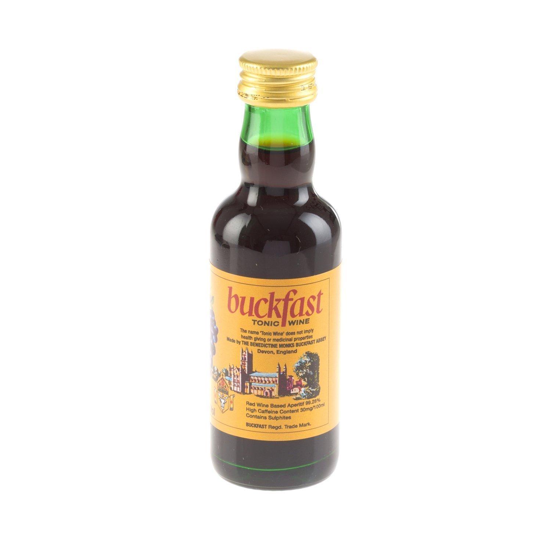 13ced0f3975 Buckfast Miniature Tonic Wine Drink 5cl Bottle   Just A Glass ...