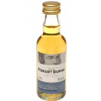 Robert Burns Scotch Whisky Blend 5cl Miniature