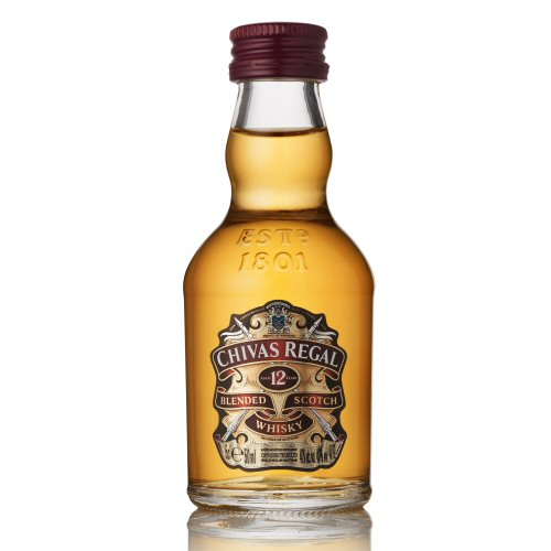 Chivas Regal 12 yo Scotch Whisky Blend 5cl Miniature