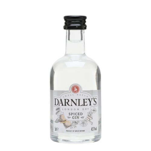"Darnley\'s ""Spiced\"" Miniature Gin 5cl Bottle"