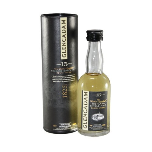 Glencadam 15 yo Single Malt Scotch Whisky 5cl Miniature