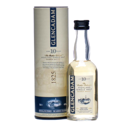 Glencadam 10 yo Single Malt Scotch Whisky 5cl Miniature