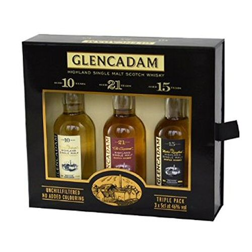 Glencadam Triple Pack Gift Set Miniature 5cl Bottles
