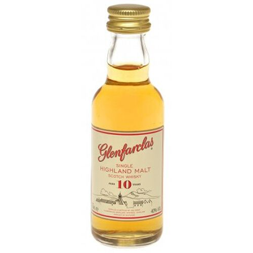 Glenfarclas 10 yo Single Malt Scotch Miniature Whisky 5cl Bottle