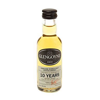 Glengoyne 10 yo Single Malt Scotch Whisky 5cl Miniature