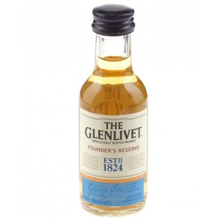 Glenlivet Founder\'s Reserve Single Malt Scotch Miniature Whisky