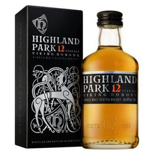 "Highland Park ""Viking Honour\"" Scotch Whisky 5cl Miniature"