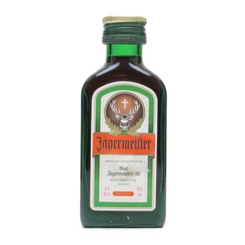 Jagermeister Miniature 4cl Bottle