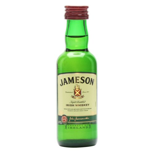 Jamesons Whiskey Miniature Bottle 5cl Drink