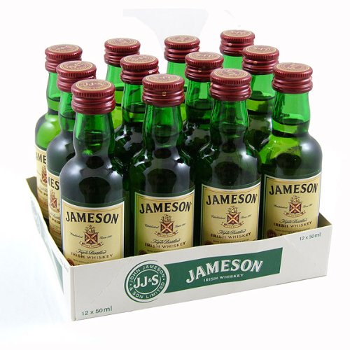 Jamesons Whiskey Miniatures (12 PACK)