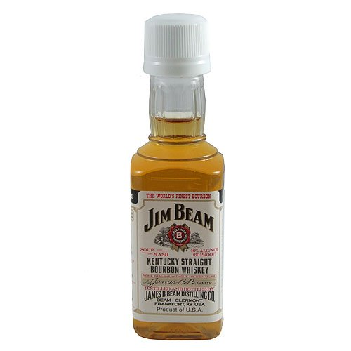 Jim Beam Miniature Whiskey 5cl Bottle