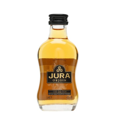 Isle of Jura 10 yo Single Malt Scotch Whisky 5cl Miniature