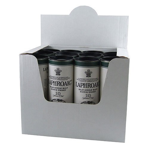 Laphroaig 10 year old Whisky Miniatures (12 PACK)