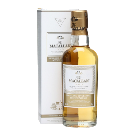 Macallan Gold Single Malt Scotch Whisky Miniatures
