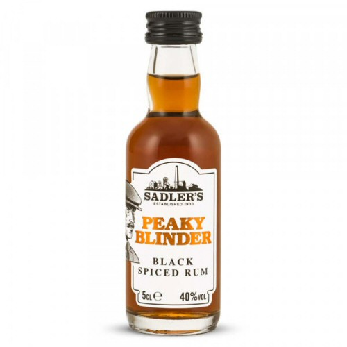 Peaky Blinder Black Spiced Rum 5cl Miniature