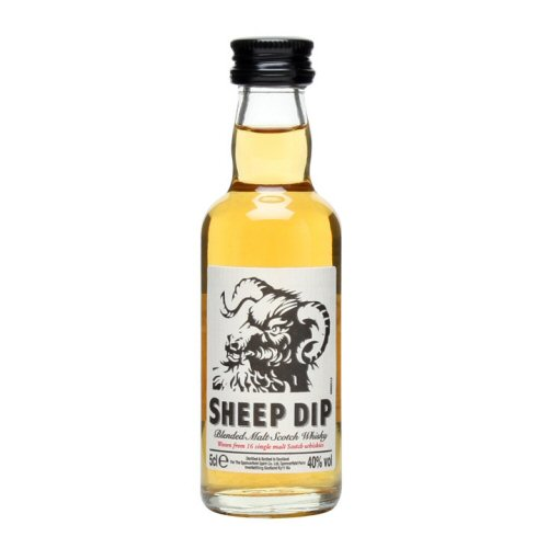 Sheep Dip Scotch Miniature Whisky 5cl Bottle
