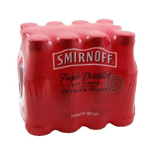 Smirnoff Vodka Miniatures - 12 PACK