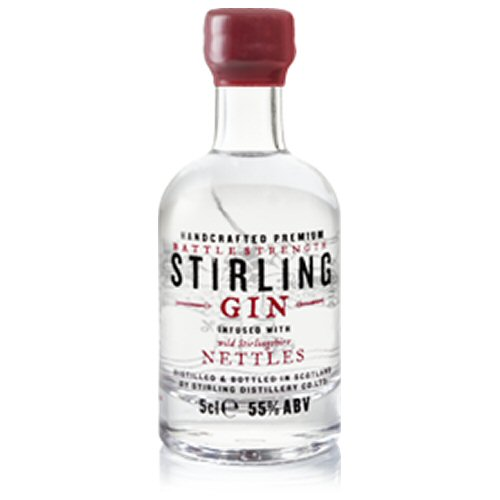 "Stirling ""Battle Strength\"" Gin 5cl Miniature"