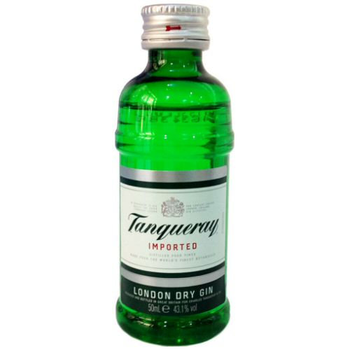 Tanqueray Dry London Gin 5cl Miniature