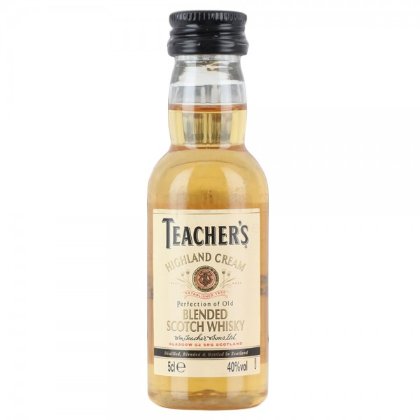 Teachers Whisky Miniature Whisky 5cl Bottle