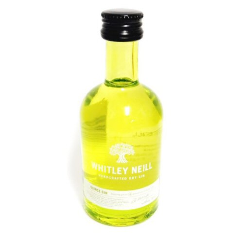 "Whitley Neill ""Quince\"" Miniature Gin 5cl Bottle"